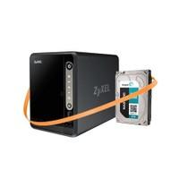"Zyxel Nas326 12Tb Depolama Ünitesi + Seagate ST2000VN000 NAS HDD 2TB 3.5"" Nas Disk Hediyeli"