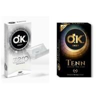 Okey Prezervatif Tenn 10 Lu + Okey Zero 10 Lu