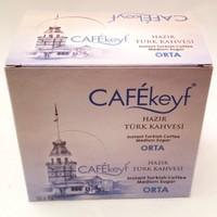 Cafekeyf Orta Şekerli Hazır Türk Kahvesi 12'li