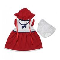 Modakids Bambaki Kız Bebek Puanlı 3 lü Set Elbise 013-0054-002