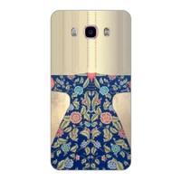Bordo Samsung Galaxy j7 2016 Kapak Kılıf Baskılı Silikon