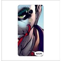 Bordo Huawei Gr5 Kapak Kılıf Joker Baskılı Silikon