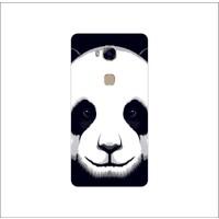 Bordo Huawei Gr5 Kapak Kılıf Panda Baskılı Silikon
