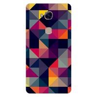 Bordo Huawei G8 Kapak Kılıf Renkler Baskılı Silikon