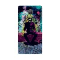 Bordo General Mobile Discovery Gm5 Plus Kapak Kılıf Renkli Joker Baskılı Silikon