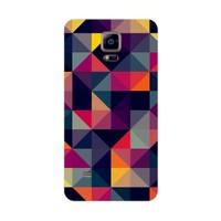 Bordo Samsung Galaxy Note 4 Kapak Kılıf Renkler Baskılı Silikon