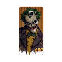 Bordo Samsung Galaxy Note 5 Kapak Kılıf Renkli Joker Baskılı Silikon