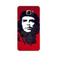 Bordo Samsung Galaxy Note 5 Kapak Kılıf Che Guevara Baskılı Silikon