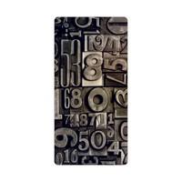 Bordo Sony Xperia Z5 Kapak Kılıf Baskılı Silikon