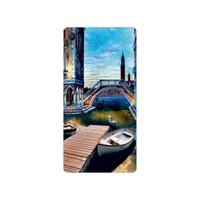 Bordo Sony Xperia M4 Aqua Kapak Kılıf Baskılı Silikon