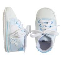 Tuc Tuc Ekose Yıldızlı Ayakkabı Baby Star
