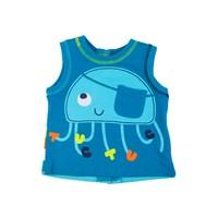 Tuc Tuc Aplikeli Baskılı Atlet Jellyfish