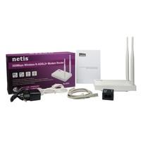Netis Dl4323 Kablosuz 4 Port 300Mbps Adsl2 + Modem Router