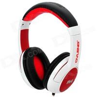 Ovleng A4 Siyah-Kırmızı Mikrofonlu Kulaklık