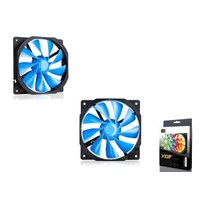 Xıgmatek Xof-F1253 120X120X25 Mavi Kasa Fanı