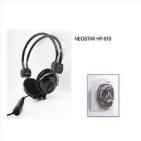 Neostar Hp-819 Siyah Mikrofonlu Kulaklık