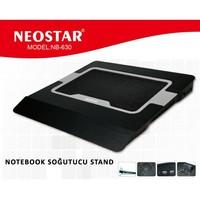 Neostar Nb-630 Gümüş 2Led Notebook Soğutucu Stand