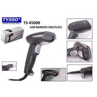 Tysso Ts-4500B Laser El Tipi Usb Barkod Okuyucu