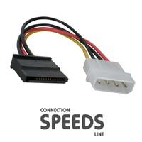 C.Speeds Lıne Ag-Ka56 15 Cm Sata Power Kablo