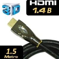 C.Speeds Lıne Ag-Hdl1401 1.5 Metre Siyah Hdmı To Hdmı Altın Uçlu 1.4 Ver. Kablo