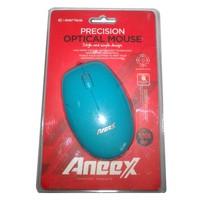 Aneex E-M465Bl Usb Optic Mavi Mouse
