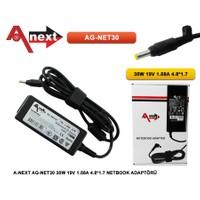 Aneex Ag-Net30 30W 19V 1.58A 4.8*1.7 Netbook Adaptörü Hp