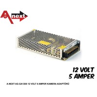 Aneex Ag-Ga1205 12 Volt 5 Amper Kamera Adaptörü