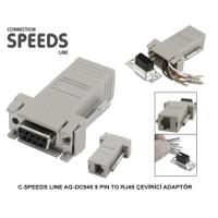 C.Speeds Lıne Ag-Dc945 9 Pın To Rj45 Çevirici Adaptör