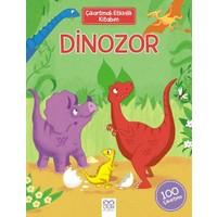 Çıkartmalı Etkinlik Kitabım: Dinozor