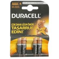 Duracell Alkalin İnce Pil 4'lü