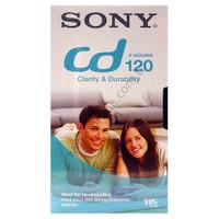 Sony E-120CDF Vhs Video Kaset