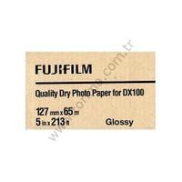 Fujifilm DX100 InkJet Fotoğraf Kağıdı Glossy - 5'' x 213' - 2 Rulo