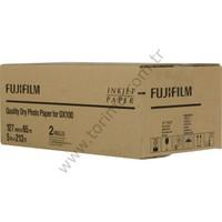 Fujifilm DX100 InkJet Fotoğraf Kağıdı Lustre - 5'' x 213' - 2 Rulo
