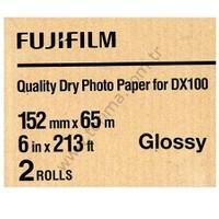 Fujifilm DX100 InkJet Fotoğraf Kağıdı Glossy (Parlak) - 6'' x 213' - 2 Rulo