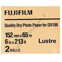Fujifilm DX100 InkJet Fotoğraf Kağıdı Lustre (Mat)- 6'' x 213' - 2 Rulo