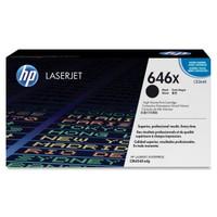 HP 646A / CE264X / CM4540 Yüksek Kapasiteli Siyah Orjinal Toner