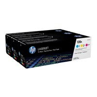 HP 128A Mavi / Sarı / Kırmızı Orjinal Toner , HP CF371AM Mavi / Sarı / Kırmızı Üçlü Avantaj Paketi