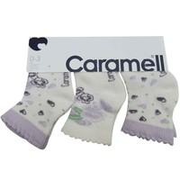 Caramell 2830 Bebek 3lü Soket Çorap