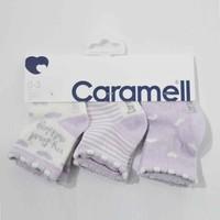 Caramell 2831 Bebek 3lü Soket Çorap