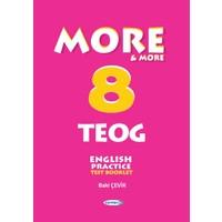 More & More 8: Teog Test Booklet Kurmay Yayınları