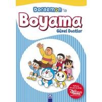 Doraemon'La Boyama Güzel Dostlar
