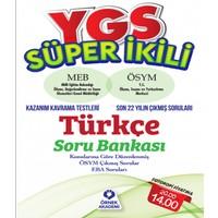 Ygs Süper İkili Türkçe Soru Bankası Meb - Ösym Konu Kavrama Testleri - Son 22 Yılın Çıkmış Soruları Örnek Akademi Yayınları