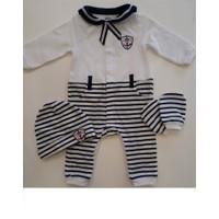 İdil Baby 7649 3'Lü Tulum Takım Lacivert