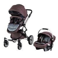 Prego 2070 Laon Travel Sistem Bebek Arabası Kahve