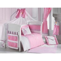 Dinoboo Little Baby Pink 8 Parça Uyku Seti 70X110