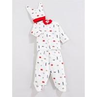 Sebi Bebe 052120 Arabalı Pijama Takımı