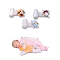 Sevi Bebe Oyuncaklı Yan Yatış Yastığı Turuncu