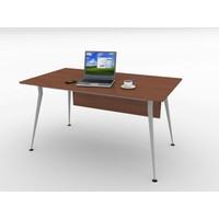 Kenyap 820756 Sera Metal Ayaklı Ofis Masası-140 cm-Tip 3