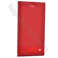Case 4U Samsung Galaxy Note 7 Gizli Mıknatıslı Kapaklı Kılıf Kırmızı