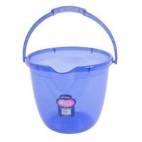 Sevi Bebe Yeni Şeffaf Bebek Banyo Kovası Şeffaf Mavi